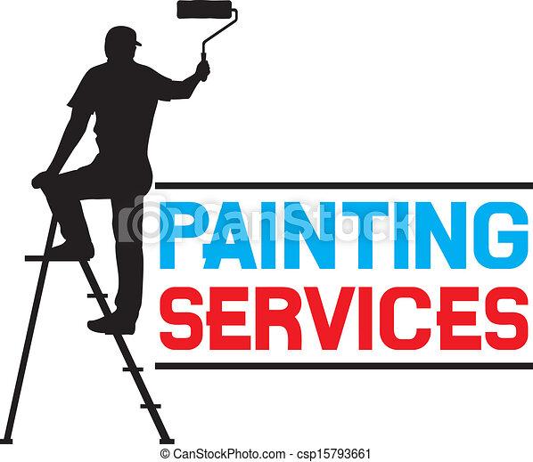 服務, 畫, 設計 - csp15793661