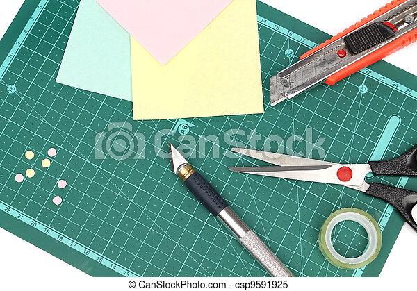 材料, scrapbooking - csp9591925