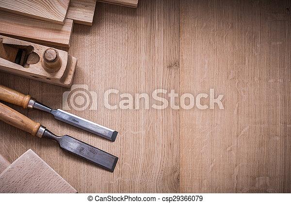 板, 工作, 變化, 木頭, 木制, 工具, joinerâ??s, 模仿 - csp29366079