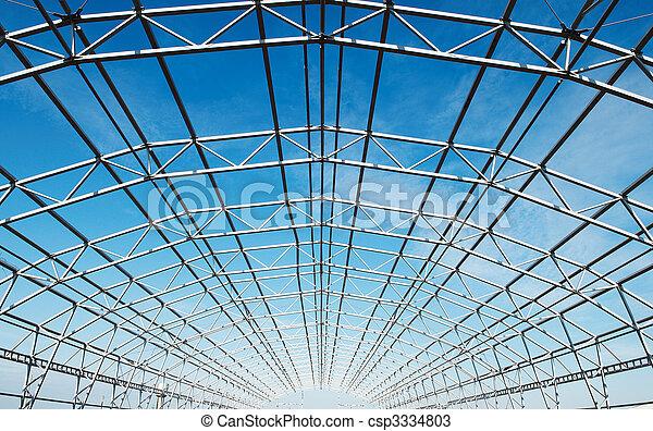 框架, 建設, 金屬 - csp3334803
