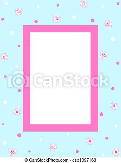 框架, 花 - csp1097163