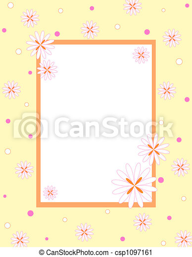 框架, 花 - csp1097161