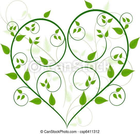 植物, 矢量, 設計 - csp6411312