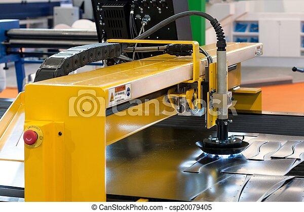 機器, 鋼, 切 - csp20079405