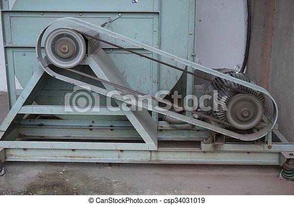 機器, 關閉, 腰帶 - csp34031019