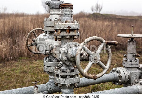 水, 老, valve. - csp80819435