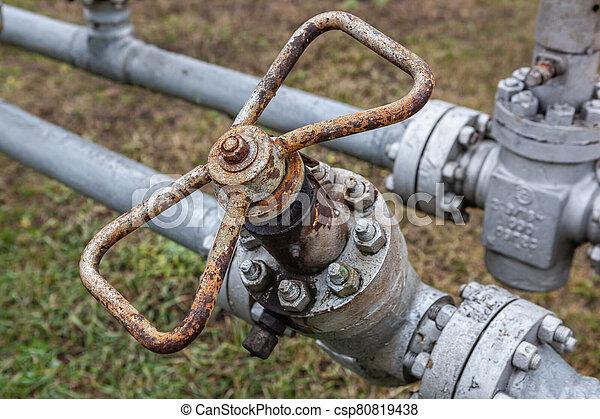 水, 老, valve. - csp80819438