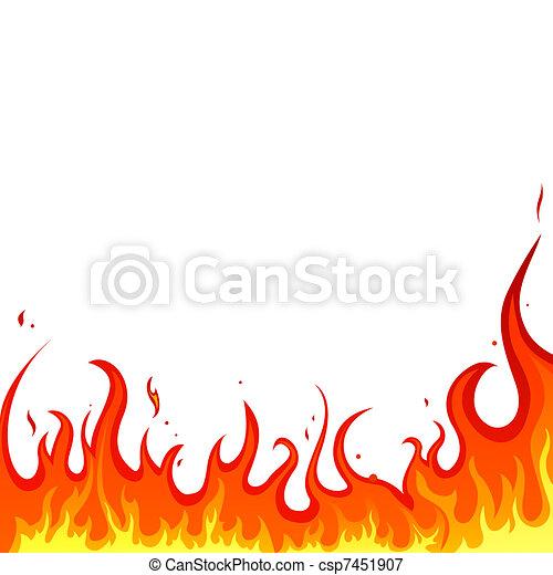 火, -, 火焰 - csp7451907