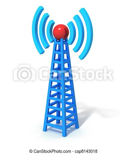 無線電通訊, 塔 - csp8143018