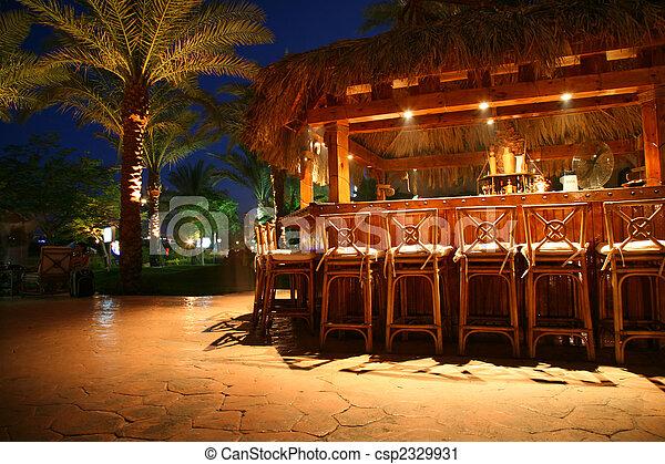 熱帶的酒吧 - csp2329931