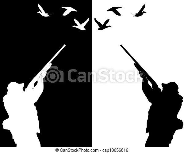 獵人, 鴨子 - csp10056816