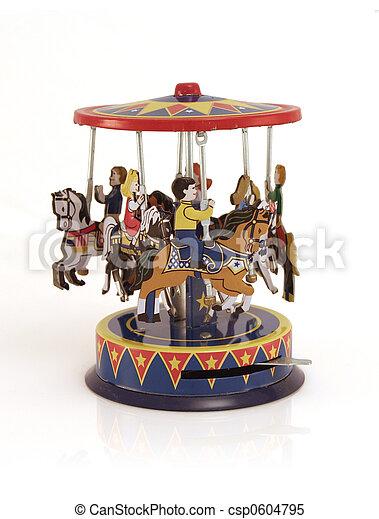 玩具, 歡樂, 錫, goround - csp0604795