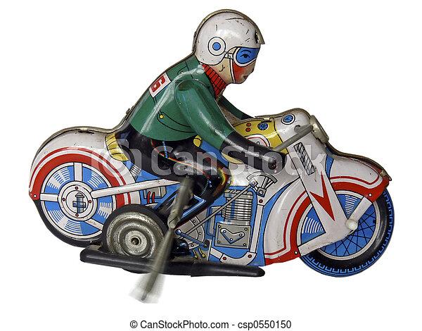 玩具, 錫, 2, 摩托車 - csp0550150