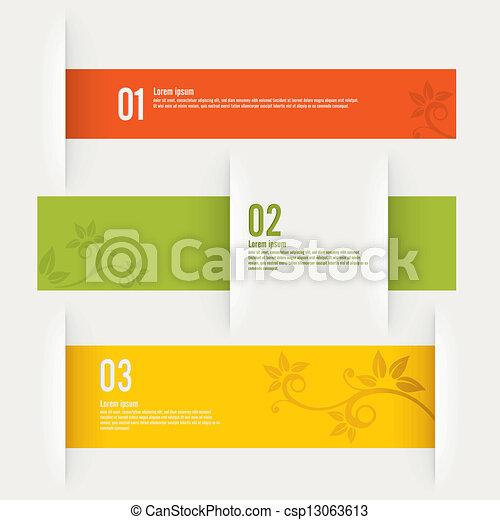 現代, 設計, 樣板 - csp13063613
