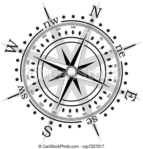 矢量, 指南針 - csp7227817