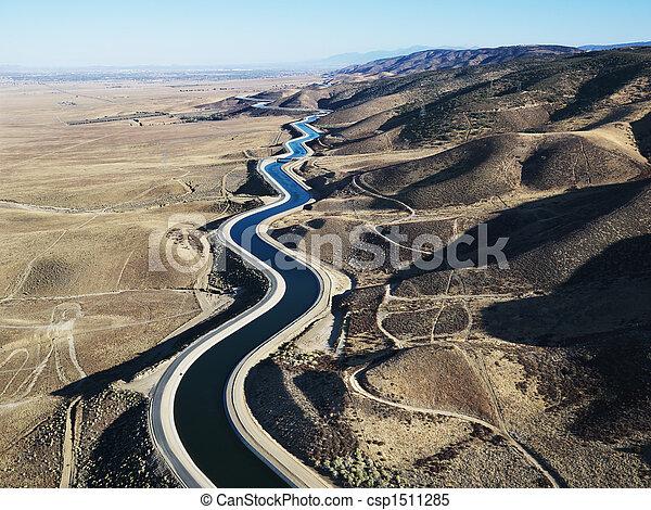 空中, aqueduct. - csp1511285