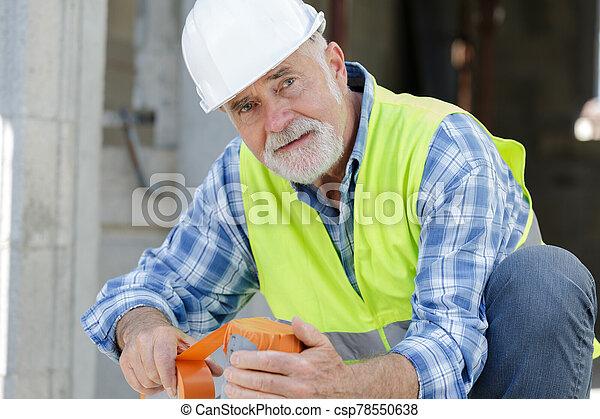 站點, 工程師, 建造者, 建設 - csp78550638
