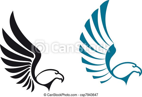 符號, 鷹 - csp7943647