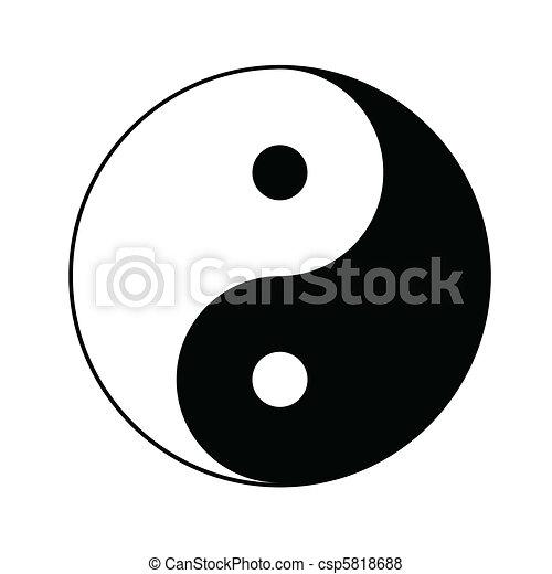 符號, yin yang - csp5818688
