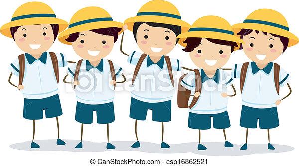 等級, schoolers, 日語 - csp16862521