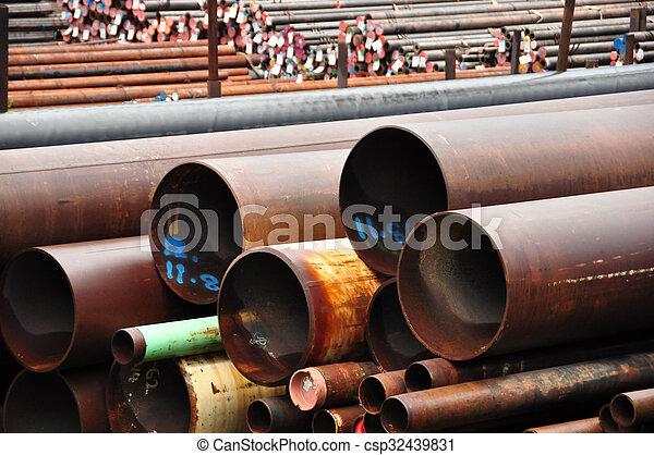 管子, 鋼 - csp32439831