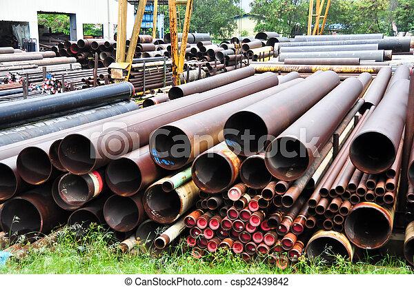 管子, 鋼 - csp32439842