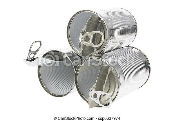 罐頭, 錫 - csp6637974