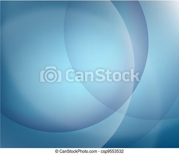 藍色的背景 - csp9553532