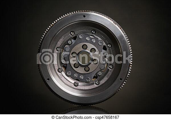 調速輪, 前面, dual-mass, 看法 - csp47658167