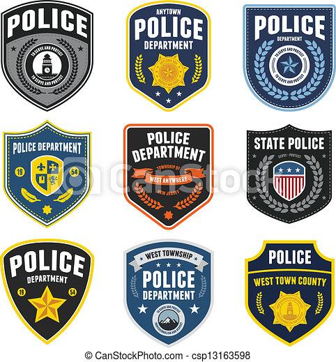 警察, 補丁 - csp13163598