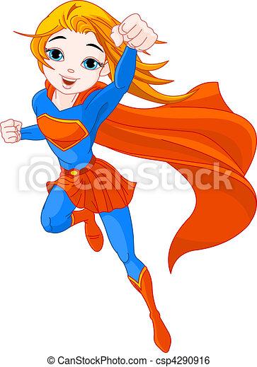 超級, 女孩 - csp4290916