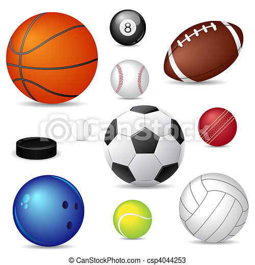 運動, 球 - csp4044253