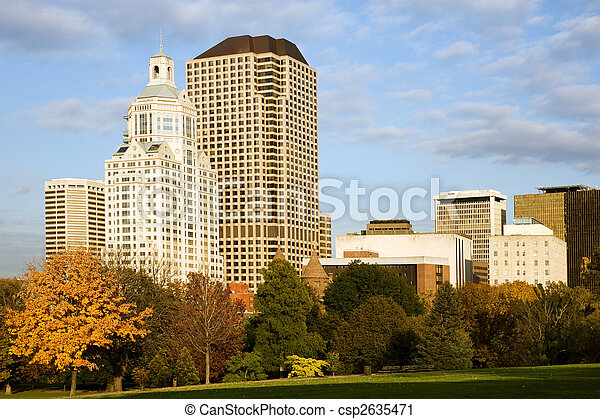 都市風景, 哈特福德 - csp2635471