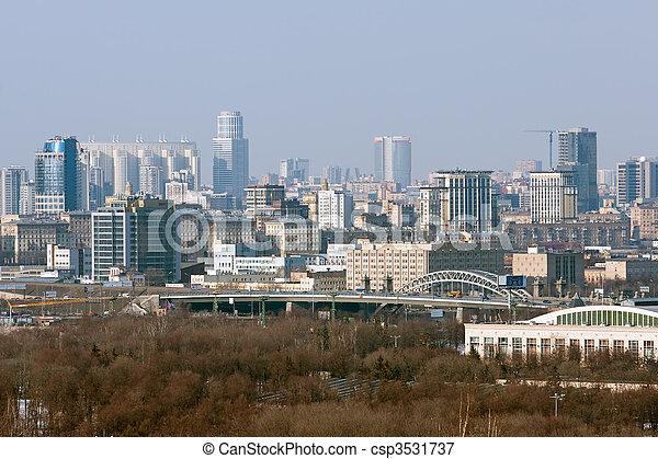 都市風景 - csp3531737