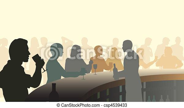 酒吧, 酒 - csp4539433