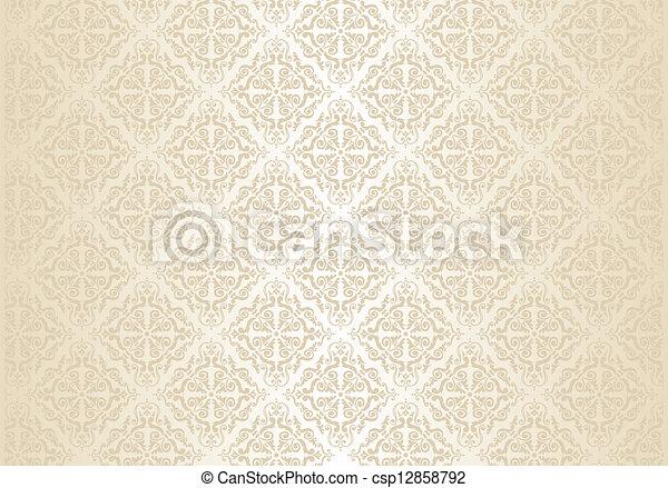 金, 牆紙, 明亮 - csp12858792