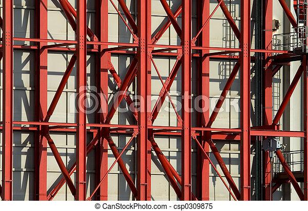 鋼鐵大粱, 紅色 - csp0309875