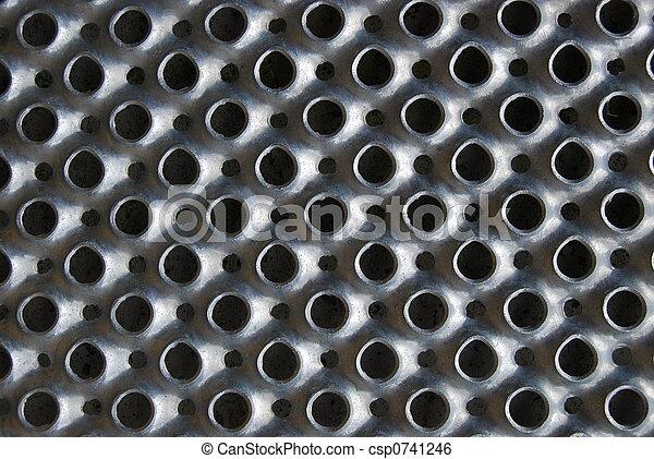 鋼, pattern., 背景 - csp0741246