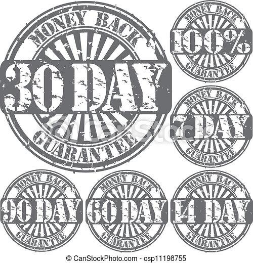 錢, grunge, 保證, 背, 橡膠 - csp11198755