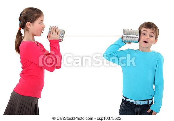錫杯電話 - csp10375522
