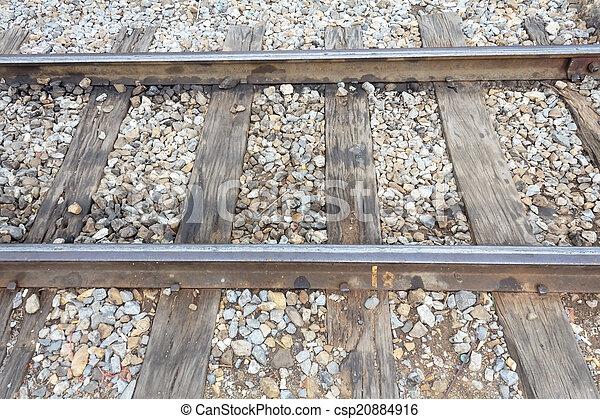 鐵路, 軌道 - csp20884916