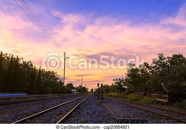 鐵路, 軌道 - csp20884921