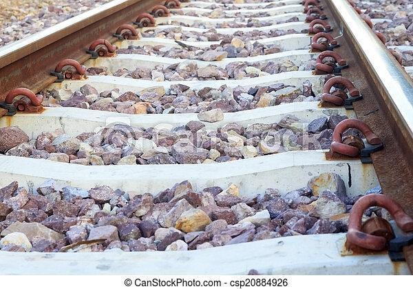 鐵路, 軌道 - csp20884926