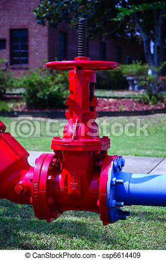 閥門, 紅色 - csp6614409