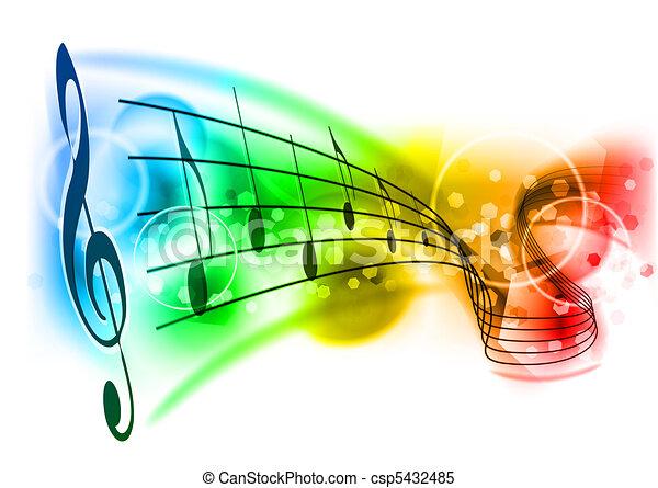 音樂 - csp5432485