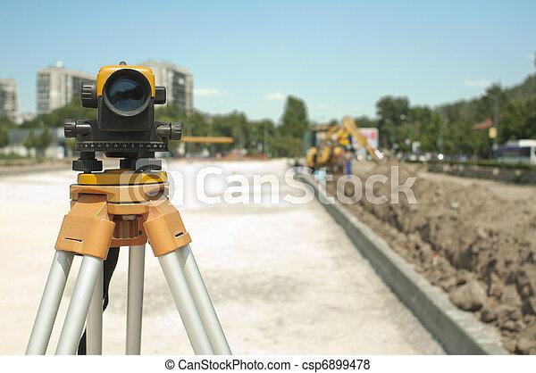 項目, 設備, 建設, 基礎設施, 測量 - csp6899478