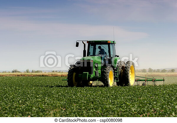 領域, 犁, 農夫 - csp0080098