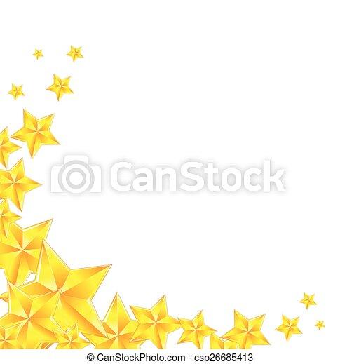 黃金, 星 - csp26685413