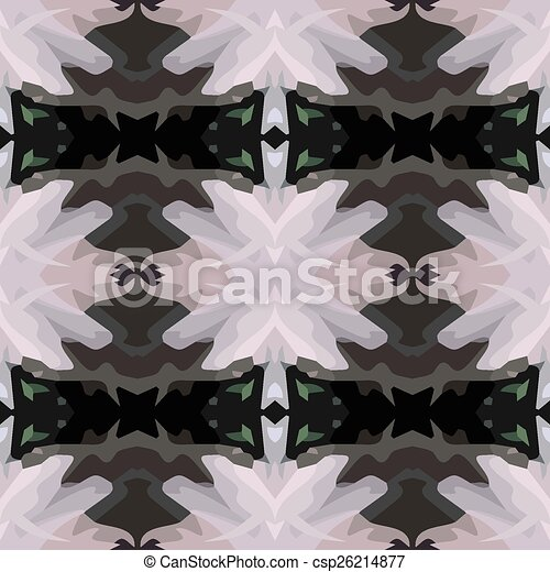 黑色, 插圖, 矢量 - csp26214877