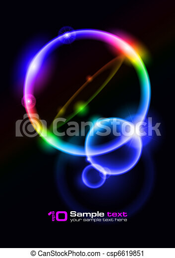 bubbles., 摘要, 矢量, design. - csp6619851